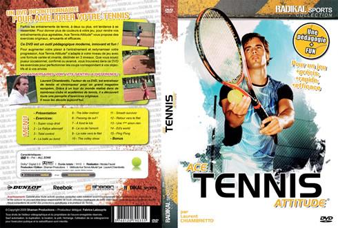 jacquette dvd ace tennis attitude