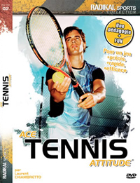 jacquette dvd ace tennis attitude cours