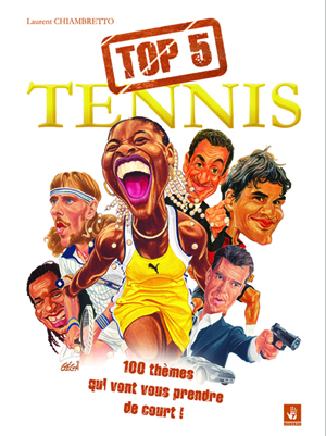 illustration de top 5 tennis de laurent chiambretto